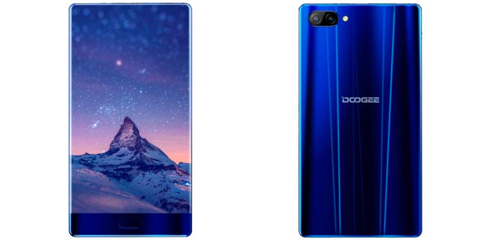Dooge Mix, smartphone Android sin bordes por menos de 200 euros 1