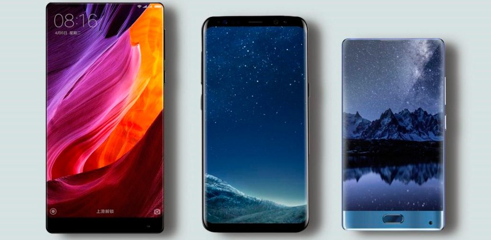 Doogee Mix, a smartphone inspired by the Xiaomi Mi Mix, or a copy? 1