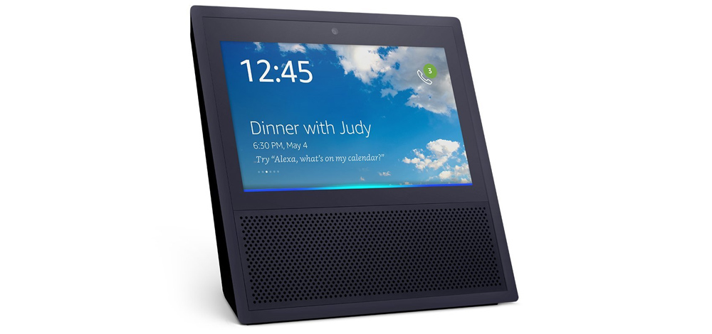 Amazon Echo Show, virtual assistant with smart speakers and display 1