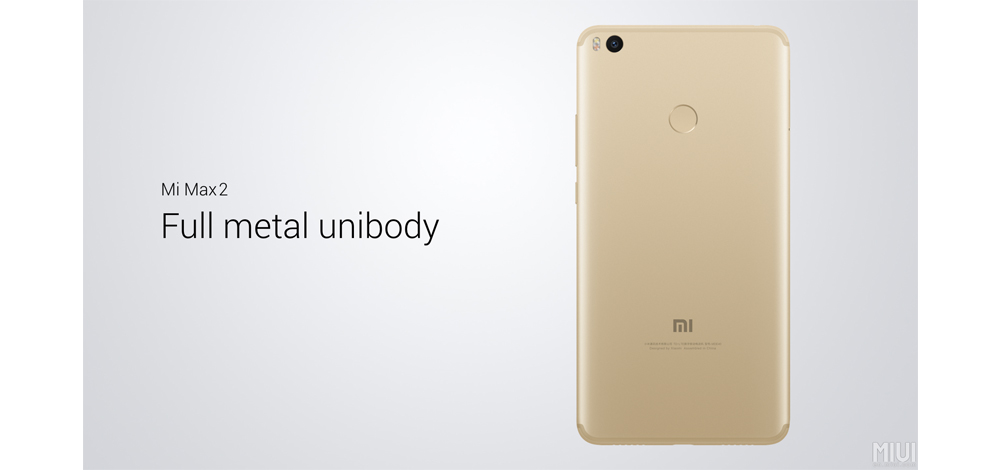 Xiaomi Mi Max 2: huge battery and screen at an affordable price 1