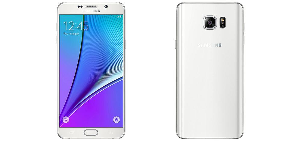 Samsung Galaxy Note 5 atualizado a Android 7.0 Nougat na Europa 1