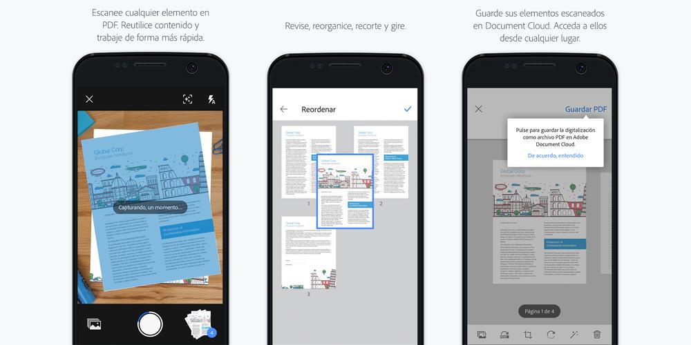 Adobe Scan trasforma hojas escritas en texto digital (gratis) 1