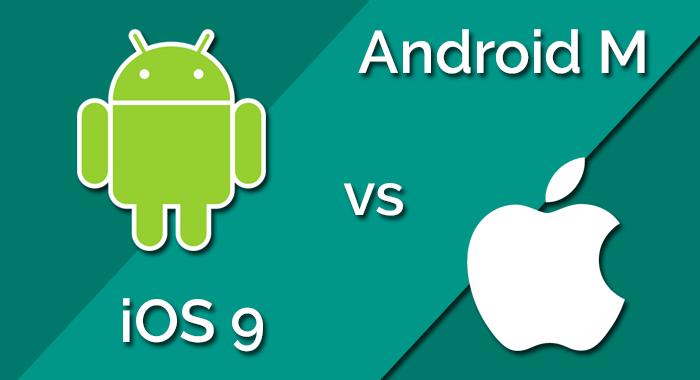 Android M versus iOS 9 3