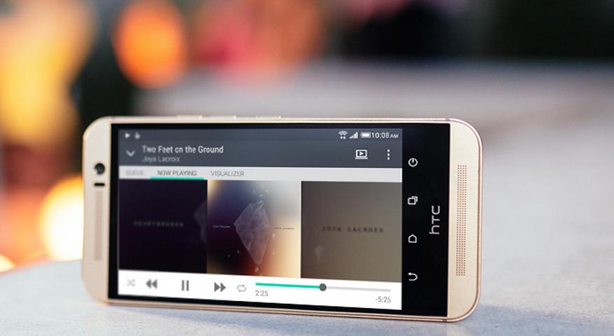 HTC One M9 versus HTC One M8 2
