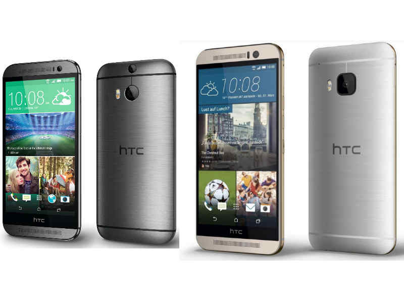 HTC One M9 versus HTC One M8 3