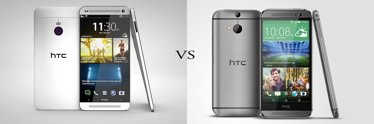 HTC One M9 versus HTC One M8 5