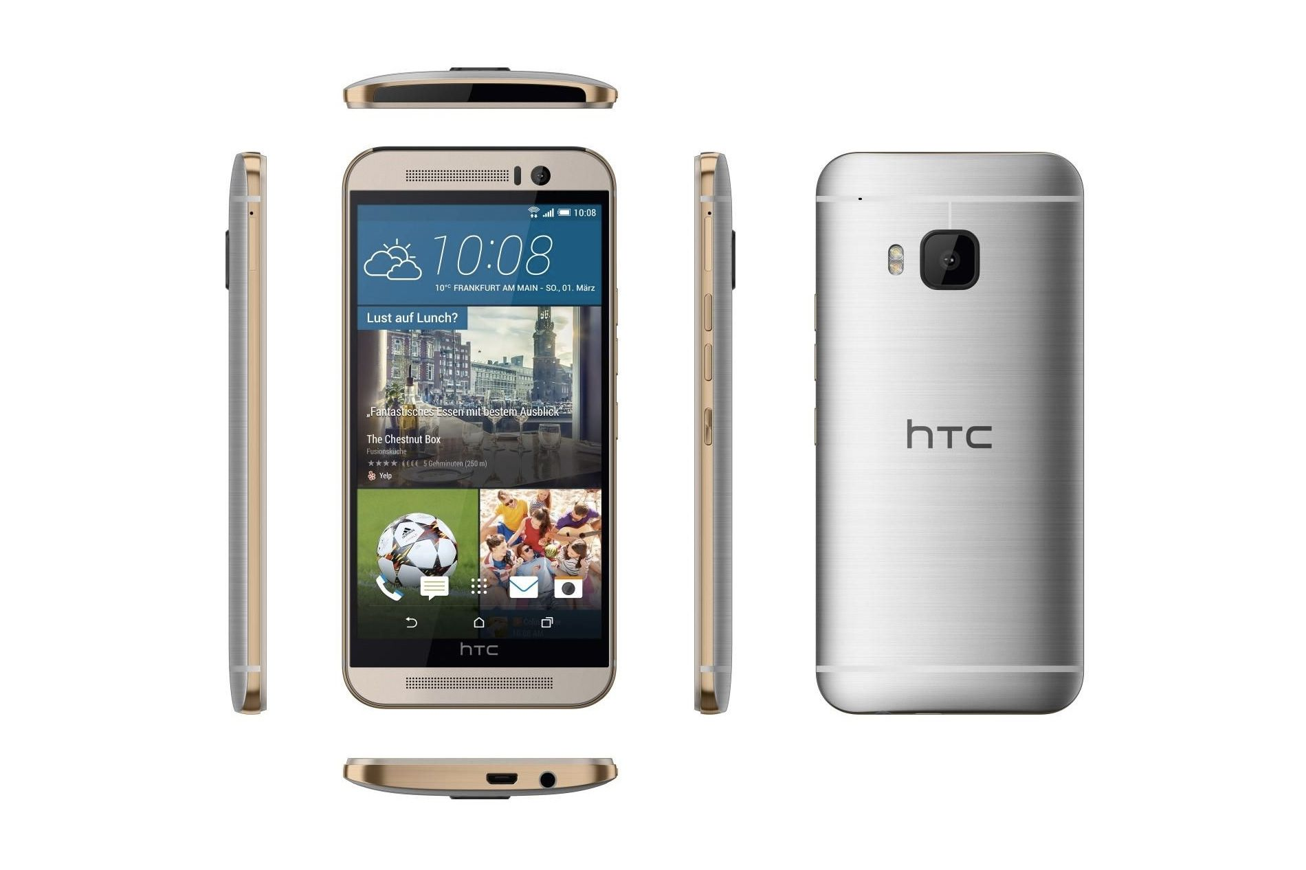 HTC One M9 versus Samsung Galaxy S6 1