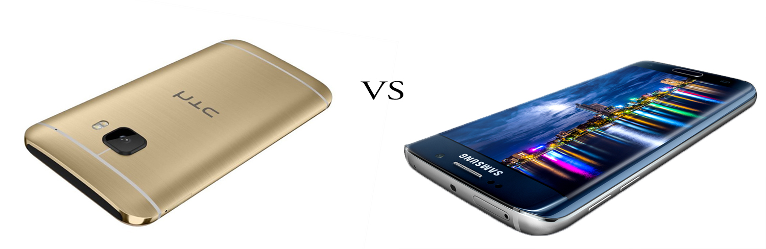 HTC One M9 versus Samsung Galaxy S6 5