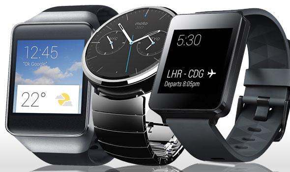 LG G Watch versus Samsung Gear Live versus Motorola Moto 360 5
