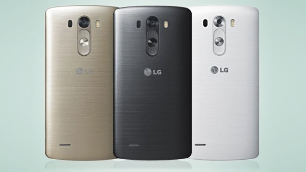 LG G3 versus Samsung Galaxy S5 3