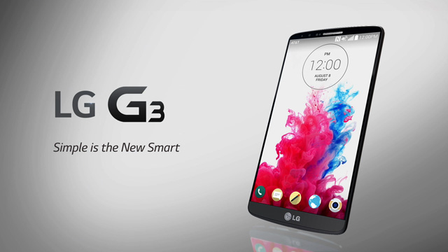 LG G3 versus Samsung Galaxy S5 1