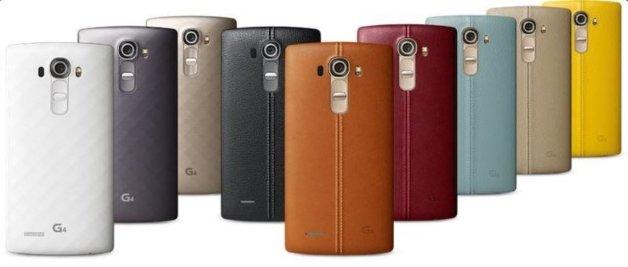 LG G4 versus Samsung Galaxy S6 2