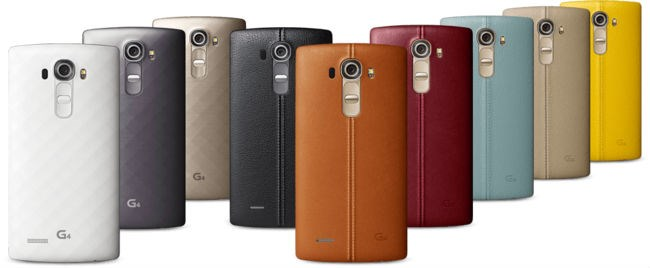 LG G4 versus Sony Xperia Z4 1