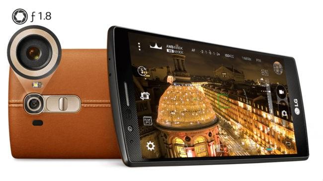 LG G4 versus Sony Xperia Z4 3