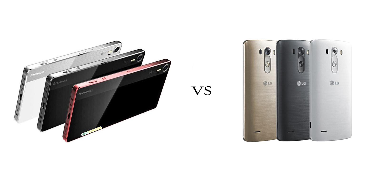 Lenovo Vibe Shot versus LG G4 5
