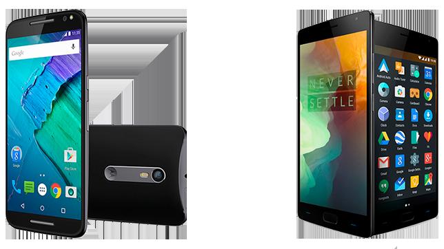 Motorola Moto X Style versus OnePlus 2 5