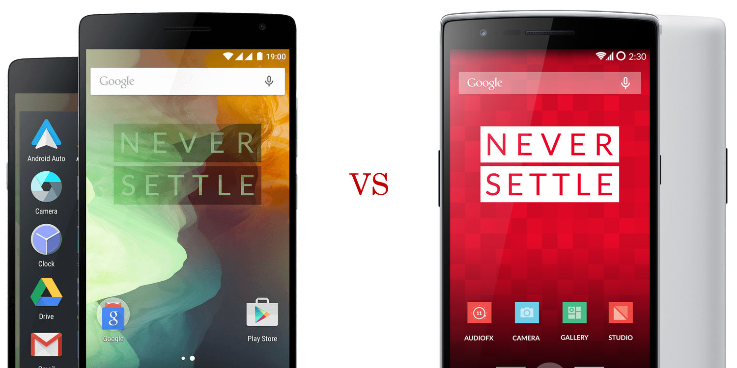OnePlus Two versus OnePlus One 4
