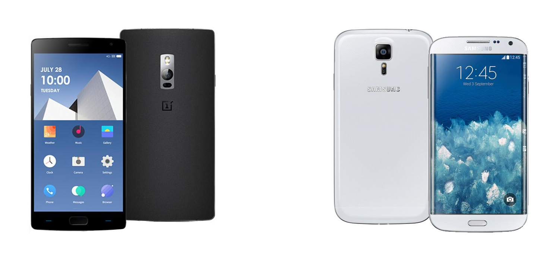 OnePlus Two versus Samsung Galaxy S6 2