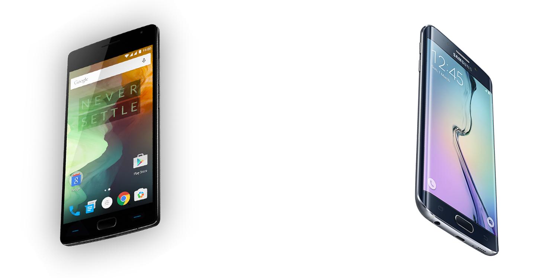 OnePlus Two versus Samsung Galaxy S6 3