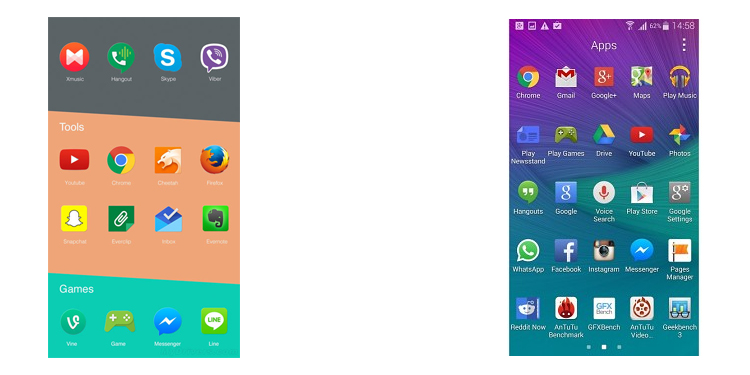 OnePlus Two versus Samsung Galaxy S6 4