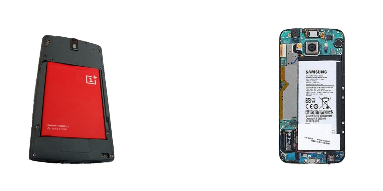 OnePlus Two versus Samsung Galaxy S6 5