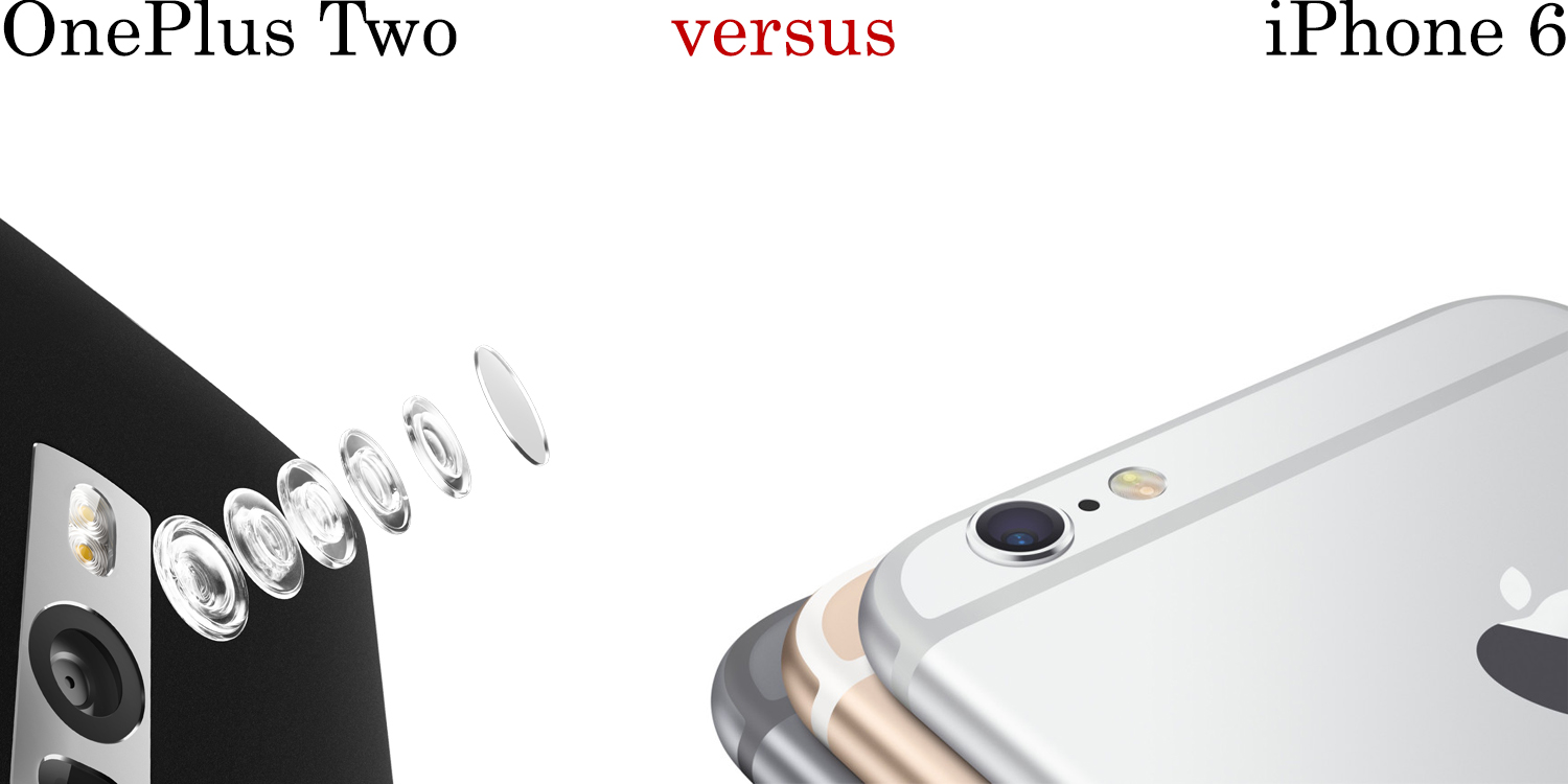 OnePlus Two versus iPhone 6 3