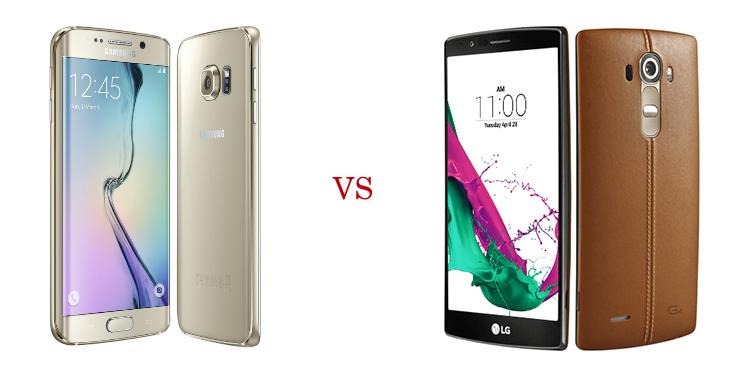 Samsung Galaxy S6 Edge+ versus LG G4 4