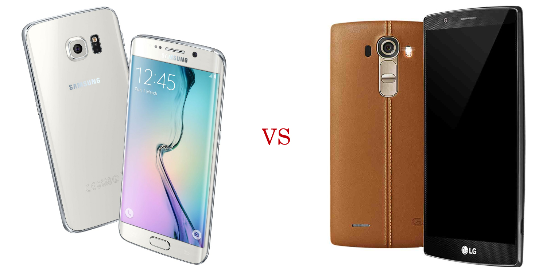 Samsung Galaxy S6 Edge+ versus LG G4 1