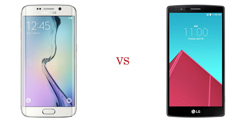 Samsung Galaxy S6 Edge+ versus LG G4 2