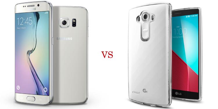 Samsung Galaxy S6 Edge+ versus LG G4 3