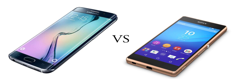 Samsung Galaxy S6 versus Sony Xperia Z3+ 1