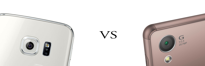 Samsung Galaxy S6 versus Sony Xperia Z3+ 3