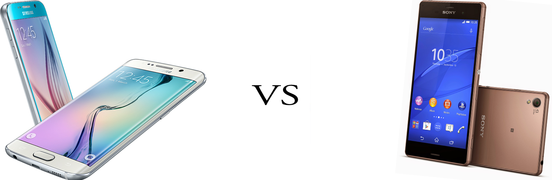 Samsung Galaxy S6 versus Sony Xperia Z3+ 5