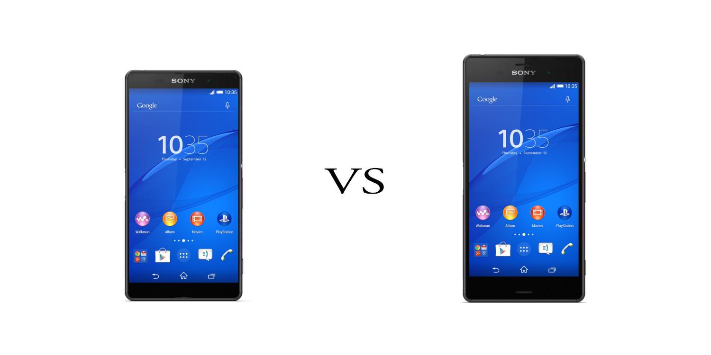 Sony Xperia Z3+ versus Sony Xperia Z3 1