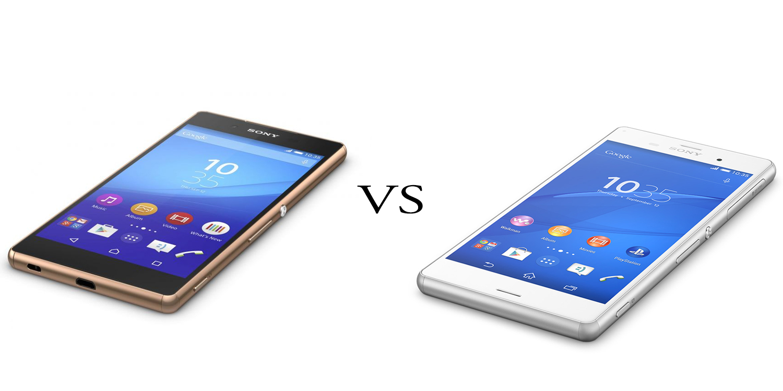 Sony Xperia Z3+ versus Sony Xperia Z3 2