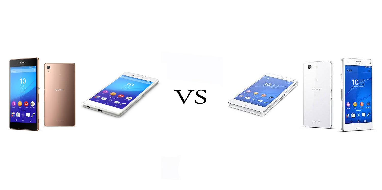 Sony Xperia Z3+ versus Sony Xperia Z3 4