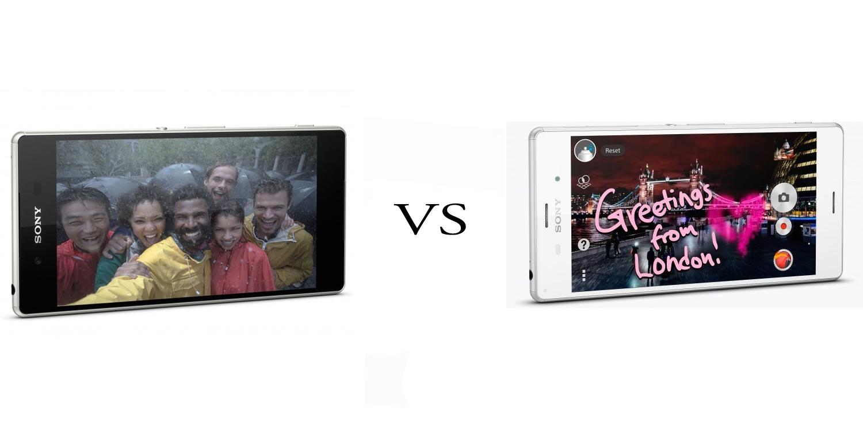 Sony Xperia Z3+ versus Sony Xperia Z3 5